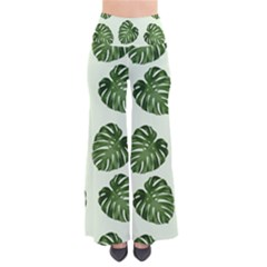 Leaf Pattern Seamless Background Pants