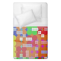 Abstract Polka Dot Pattern Duvet Cover (single Size) by BangZart
