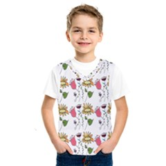 Handmade Pattern With Crazy Flowers Kids  Sportswear