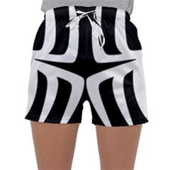 White Spider Sleepwear Shorts