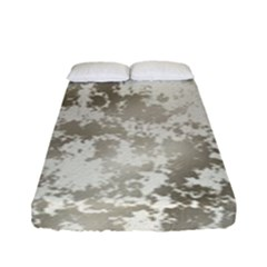 Wall Rock Pattern Structure Dirty Fitted Sheet (full/ Double Size) by BangZart