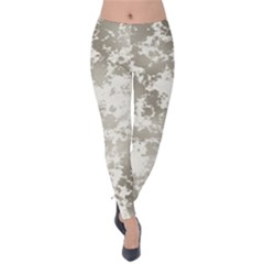 Wall Rock Pattern Structure Dirty Velvet Leggings