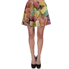 Jelly Beans Candy Sour Sweet Skater Skirt by BangZart