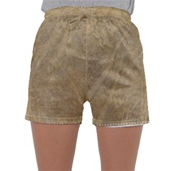 Abstract Forest Trees Age Aging Sleepwear Shorts