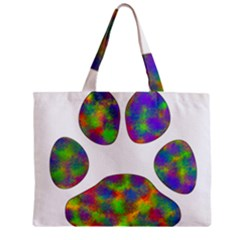 Paw Zipper Mini Tote Bag by BangZart