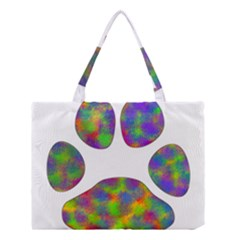 Paw Medium Tote Bag by BangZart