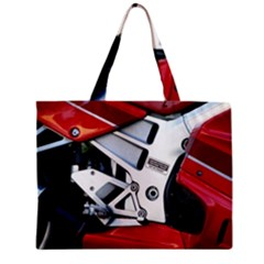 Footrests Motorcycle Page Zipper Mini Tote Bag by BangZart