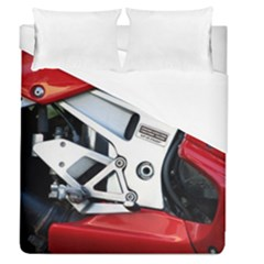 Footrests Motorcycle Page Duvet Cover (queen Size) by BangZart
