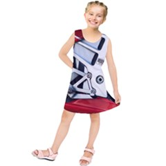 Footrests Motorcycle Page Kids  Tunic Dress by BangZart