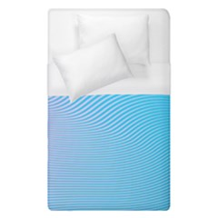Background Graphics Lines Wave Duvet Cover (single Size) by BangZart
