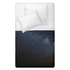 Cosmos Dark Hd Wallpaper Milky Way Duvet Cover (single Size) by BangZart