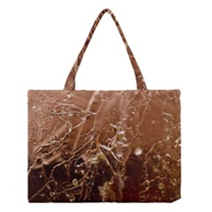 Ice Iced Structure Frozen Frost Medium Tote Bag by BangZart
