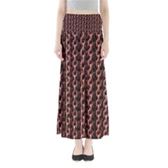 Chain Rusty Links Iron Metal Rust Full Length Maxi Skirt by BangZart