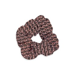 Chain Rusty Links Iron Metal Rust Velvet Scrunchie by BangZart
