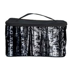 Birch Forest Trees Wood Natural Cosmetic Storage Case