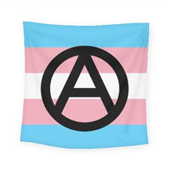 Anarchist Pride Square Tapestry (small) by TransPrints