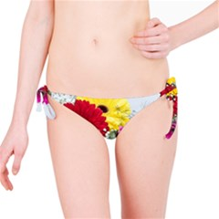 Flowers Gerbera Floral Spring Bikini Bottom by BangZart