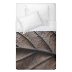 Leaf Veins Nerves Macro Closeup Duvet Cover (single Size) by BangZart