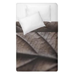 Leaf Veins Nerves Macro Closeup Duvet Cover Double Side (single Size) by BangZart