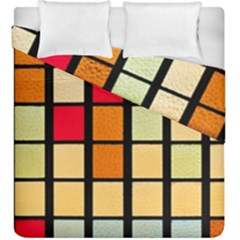 Mozaico Colors Glass Church Color Duvet Cover Double Side (king Size) by BangZart