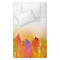 Autumn Leaves Colorful Fall Foliage Duvet Cover (single Size) by BangZart