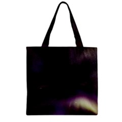 The Northern Lights Nature Zipper Grocery Tote Bag by BangZart
