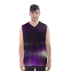 The Northern Lights Nature Men s Basketball Tank Top
