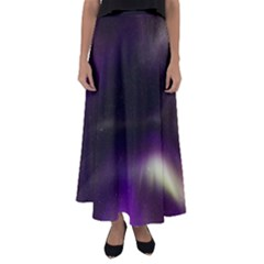 The Northern Lights Nature Flared Maxi Skirt