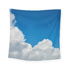 Sky Clouds Blue White Weather Air Square Tapestry (small) by BangZart