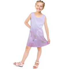 Pink Blossom Bloom Spring Romantic Kids  Tunic Dress by BangZart