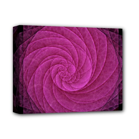 Purple Background Scrapbooking Abstract Deluxe Canvas 14  X 11  by BangZart