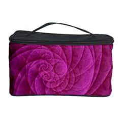 Purple Background Scrapbooking Abstract Cosmetic Storage Case by BangZart