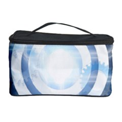 Center Centered Gears Visor Target Cosmetic Storage Case by BangZart