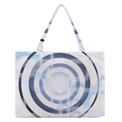 Center Centered Gears Visor Target Medium Zipper Tote Bag by BangZart