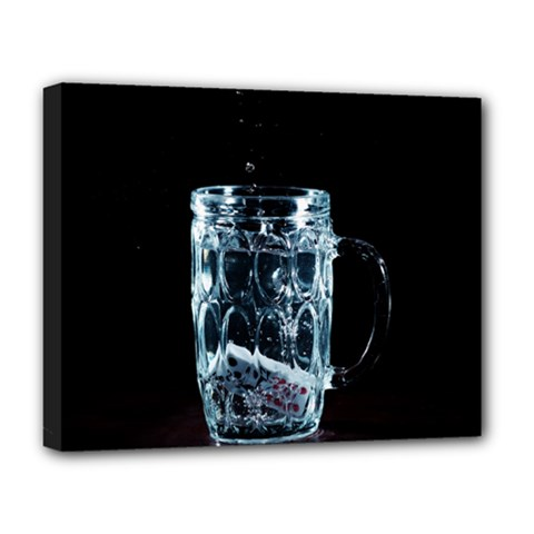 Glass Water Liquid Background Deluxe Canvas 20  X 16   by BangZart