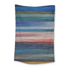 Background Horizontal Lines Small Tapestry by BangZart