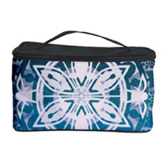 Mandalas Symmetry Meditation Round Cosmetic Storage Case by BangZart