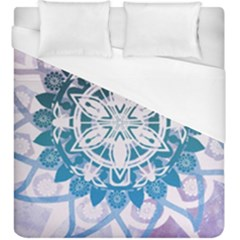 Mandalas Symmetry Meditation Round Duvet Cover (king Size) by BangZart