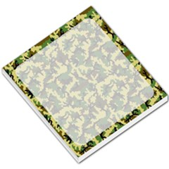 Camouflage Woodland Small Memo Pad by sifis