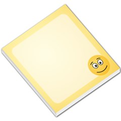 Smiling Face With Open Eyes Small Memo Pads by sifis