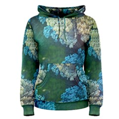 Fractal Formula Abstract Backdrop Women s Pullover Hoodie by BangZart