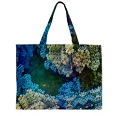 Fractal Formula Abstract Backdrop Zipper Mini Tote Bag by BangZart