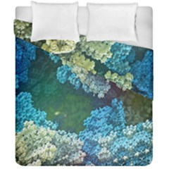 Fractal Formula Abstract Backdrop Duvet Cover Double Side (california King Size) by BangZart
