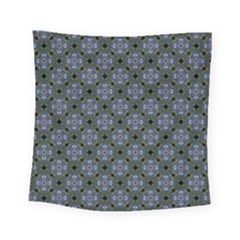 Space Wallpaper Pattern Spaceship Square Tapestry (small)
