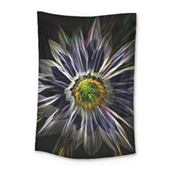 Flower Structure Photo Montage Small Tapestry