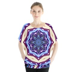 Mandala Art Design Pattern Blouse by BangZart
