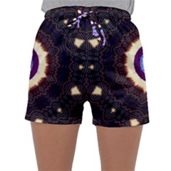 Mandala Art Design Pattern Sleepwear Shorts