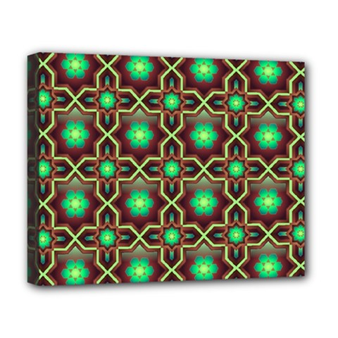 Pattern Background Bright Brown Deluxe Canvas 20  X 16   by BangZart