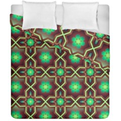Pattern Background Bright Brown Duvet Cover Double Side (california King Size) by BangZart