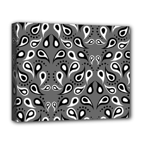 Paisley Pattern Paisley Pattern Deluxe Canvas 20  X 16   by BangZart
